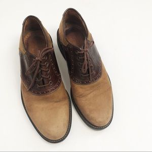Johnston And Murphy leather shoes
